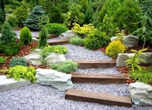 jardin chalet